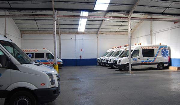 Flota de Ambulancias La Cinta en Huelva